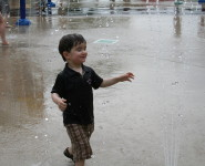 will in the rain